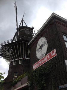 Brouwerij tIJ and windmill