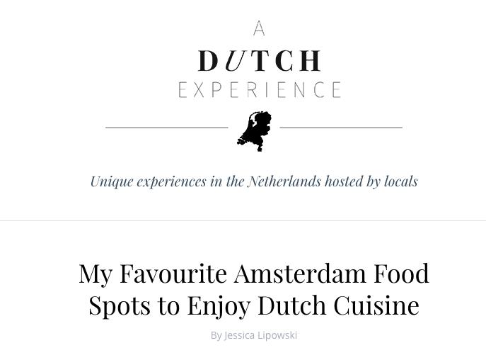Dutch Experience
